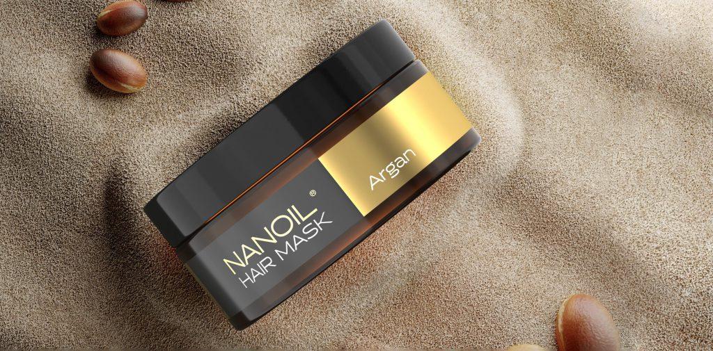 nanoil argan hair mask